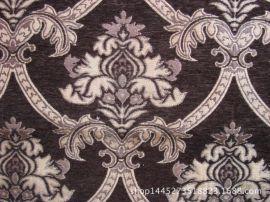 雪尼尔欧式大提花沙发装饰布 雪尼尔色织提花沙发布靠垫布家具布