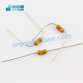 JFP1300TL 3A/125V電阻式保險絲 插件黃色慢斷