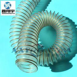 意大利IPL工业软管/VM聚氨脂钢丝伸缩软管/38mm可伸缩柔性吸尘管
