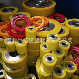 聚氨酯胶辊 聚氨酯传动轮 耐磨聚氨酯包胶轮