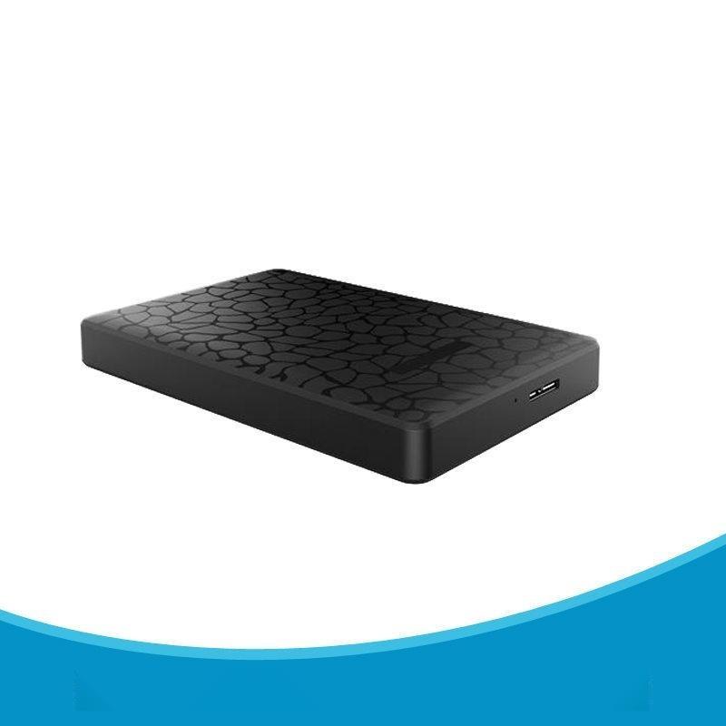 直销笔记本移动硬盘盒USB3.0 冰裂纹款 硬盘盒子2.5寸SSD串口外壳