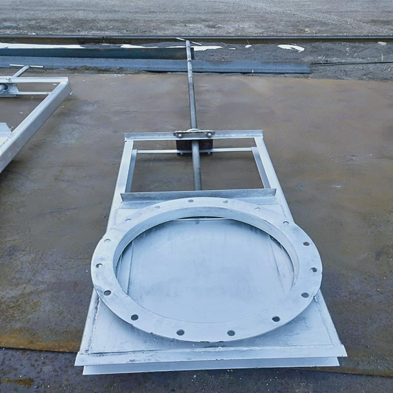 供應 機門一體式閘門 渠道用機閘一體鋼製閘門