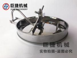不锈钢下人孔-卫生级椭圆人孔、内开椭圆人孔