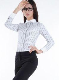 木代尔女衬装长袖衬衫