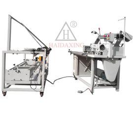 卷布对折机缝纫机, 对折缝边机