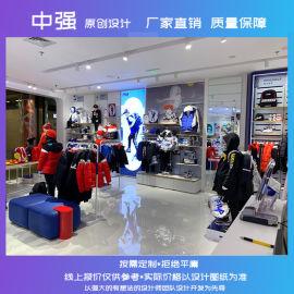 供应童装展柜定制服装展示架展示柜定制产品设计新颖