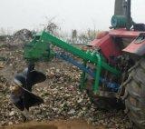 拖拉機帶樹坑機   興農挖樹坑機