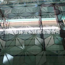 天津酒店装饰彩色不锈钢板  宝蓝石彩板装饰精美