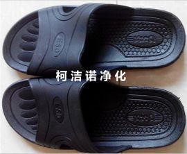 SPU防静电拖鞋 凉鞋 新款防静电SPU凉拖 防滑无尘鞋 ESD洁净拖鞋 PVC胶拖鞋 黑色工作拖鞋 净化TSPU拖鞋