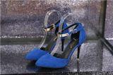 批发2015新款单鞋尖头高跟鞋欧洲站女鞋四季鞋中空婚礼宴会单鞋子