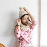秋冬针织帽子围脖二件套【金娟针织】