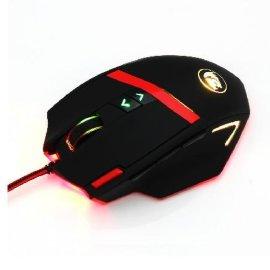 红龙猛犸 16400DPI宏定义编程有线激光 专业游戏鼠标加重 LOLdota