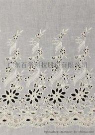 棉线花边 棉线刺绣 白色花边 花边窗帘 秋季新款