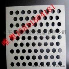 装饰用冲孔网冲孔板穿孔铝板厂家定做