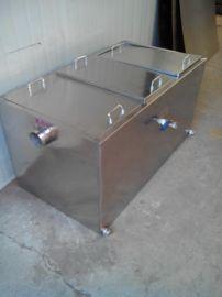 合肥厨房不锈钢隔油池 福州餐饮无动力油水分离器
