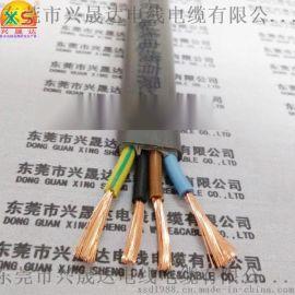 4芯2.5平方 4芯1.5平方耐磨扁电缆,电动伸缩门扁线