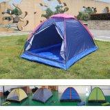 户外用品2人帐篷情侣自驾游单层手动宿营双人小帐篷海边沙滩休闲