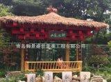 青島高新區木製涼亭 景觀四角亭加工