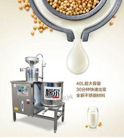 恒尔HEDJ-6型特价全自动不锈钢燃气豆浆机商用大容量多功能豆奶机