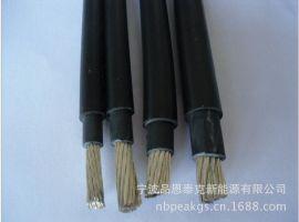 TUV认证大规格太阳能光伏电缆PV1-F 1*35mm2/光伏发电工程汇流电缆