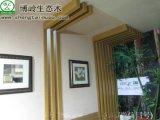 環保無甲醛竹木纖維集成牆面價格博嶺生態木廠家直銷