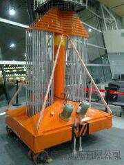 启运直销北京市宣武 海淀区QYTG-小型室内套缸式升降平台 小型室内升降机