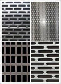 厂家直销:长方形孔板 不锈钢冲孔网 条形冲孔网
