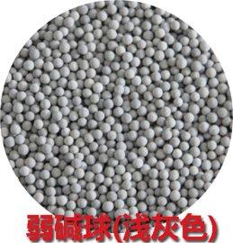 淄博腾翔TX-RJQ3毫米弱碱性陶瓷球  潮州大量批发滤芯用灰色碱性球颗粒