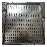 厂家定做各种不锈钢冲孔板 烘干箱冲孔网托盘 镀锌板烤盘