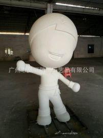 商场节庆活动摆件 喜庆泡沫大型卡通雕塑泡沫工艺品
