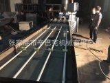 江苏张家港pvc电工穿线管一出四管材生产线 pvc塑料管材挤出设备
