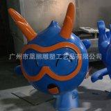 玻璃鋼卡通人物雕塑定製 商場美陳 廣場擺設品