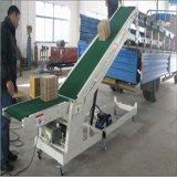 农用型粮食装车输送机移动式液压升降皮带机槽型散粮入仓传送机