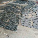 专业生产森林绿万年青深绿麻烧面光面花岗岩石材  定制园林石材