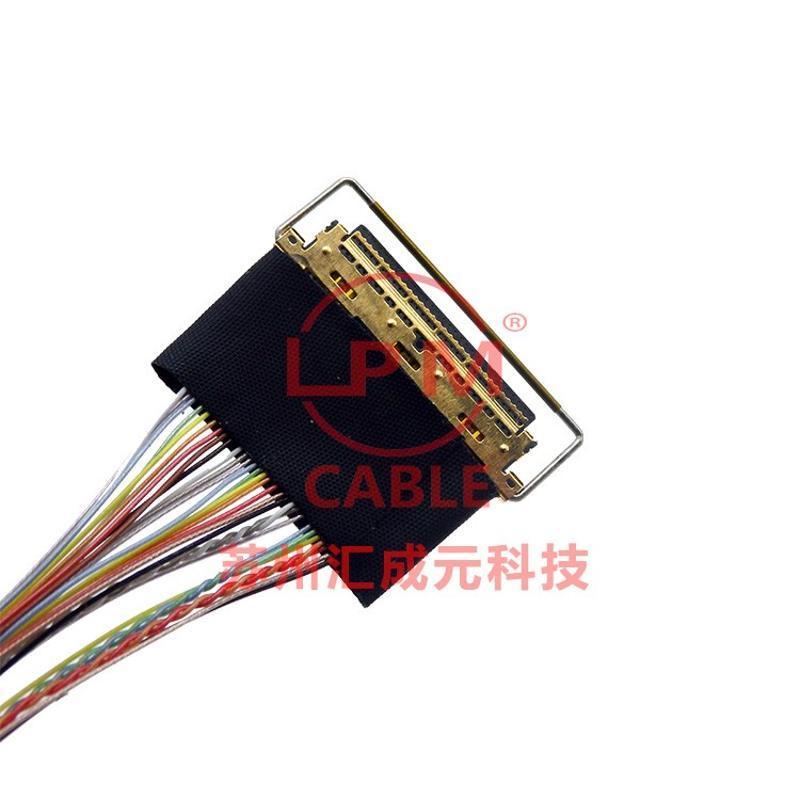 供应I-PEX 20410-030U TO I-PEX 20322-032T-11 极细同轴屏线