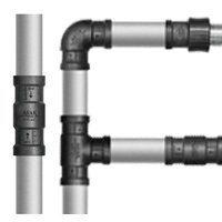 航天凯撒铝合金衬塑复合管材
