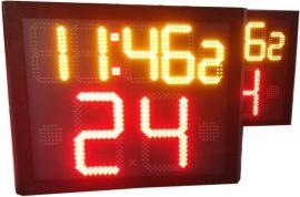篮球24秒计时器金陵同款篮球计时记分器移动正   14秒有线无线
