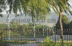 北京门头沟校园太阳能路灯工程-北京太阳路灯厂