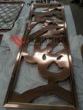 古銅拉絲不鏽鋼圍邊花格,不鏽鋼花格電鍍古銅色