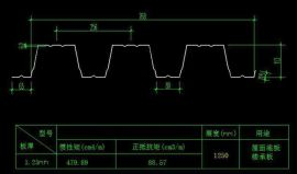 楼承板YX113-256-768穿孔吸音压型钢板屋面底板
