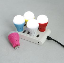 专利产品LED灯泡蓝牙音箱 无线夜灯蓝牙 礼品音响 低音炮 带通话