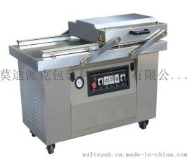 蔬菜真空包装不锈钢包装机械 双室600型食品真空包装