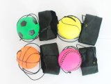 6.3釐米手腕彈力球 牽繩彈力球 回力球 魔術回彈球