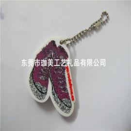 订制塑胶珠链吊饰 卡通挂饰 PVC软胶吊饰