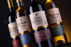 木桐葡萄酒包装设计酒标设计印刷