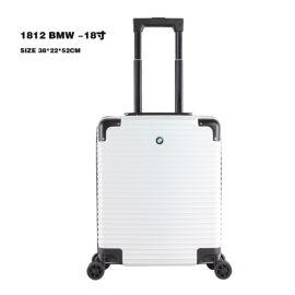 汽車禮品拉杆箱18寸寶馬行李箱萬向輪奔馳旅行登機箱