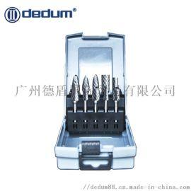 台湾德盾DEDUM硬质合金旋转锉10件套雕刻刀6柄