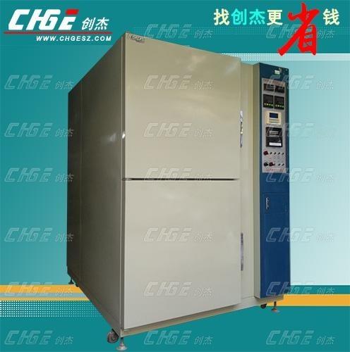 韩国二手2厢式温度冲击试验箱,两厢式冷热冲击试验机,提吊篮式高低温冲击测试机