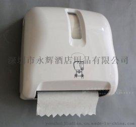 新款专利自动感应出纸器自动一次性座厕垫出纸架ABS材质抽纸架