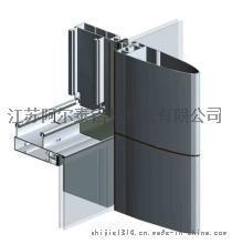 厂家长期生产幕墙铝型材 款式多样 高品质工业建筑铝型材